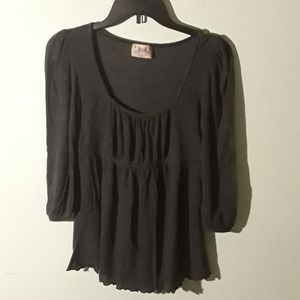 Juicy Couture gray blouse